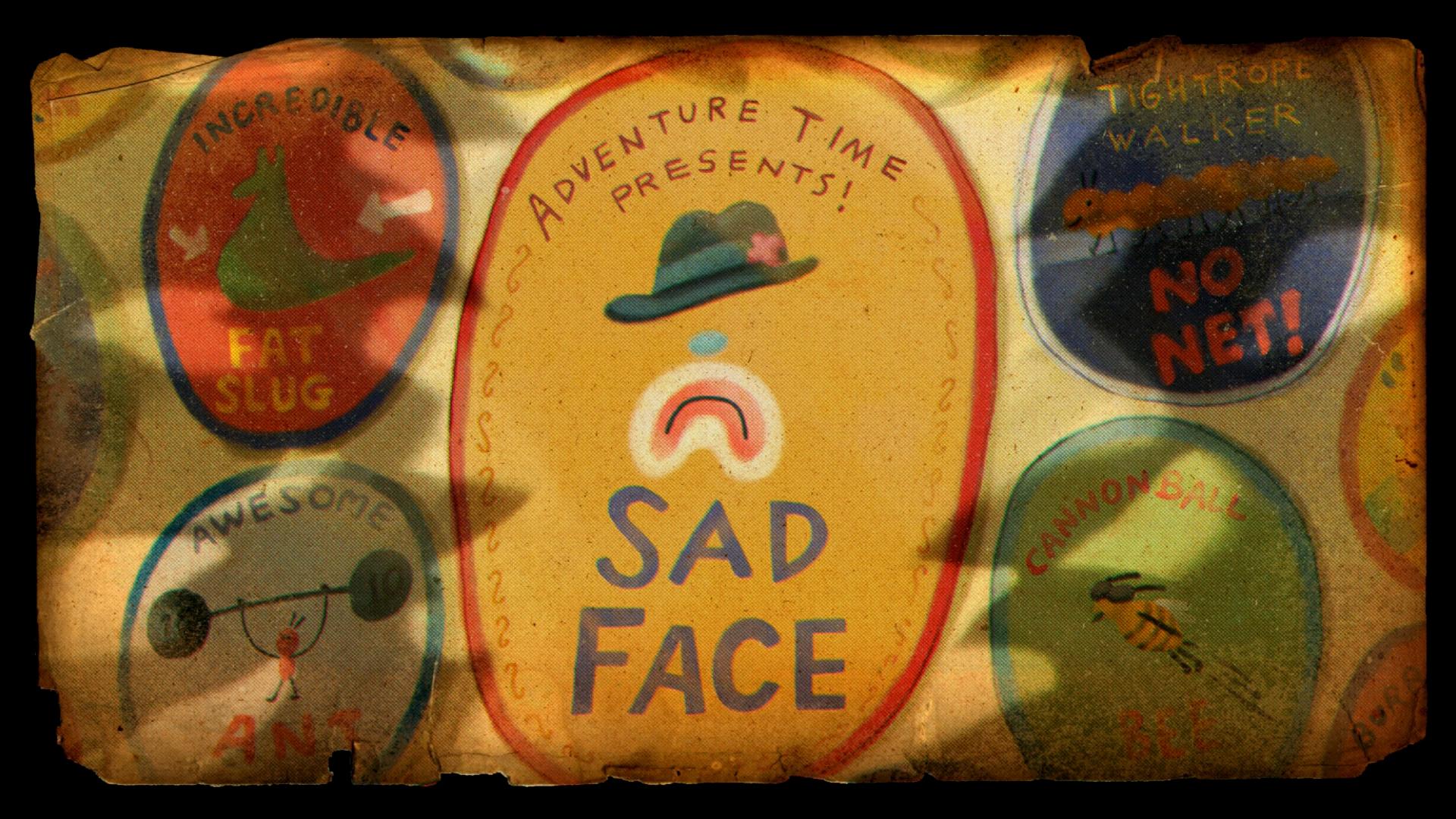 Sad Face Transcript Adventure Time Wiki Fandom Powered