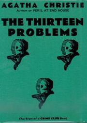 The Thirteen Problems First Edition Cover 1932