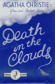 Death in the Clouds First Edition Cover 1935