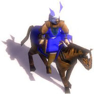 Cavalry archer