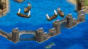 Sea Wall Constantinople