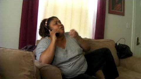 Dominican mom yelling at daughter