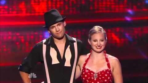 America's got talent 2011 - 1st result - Q1