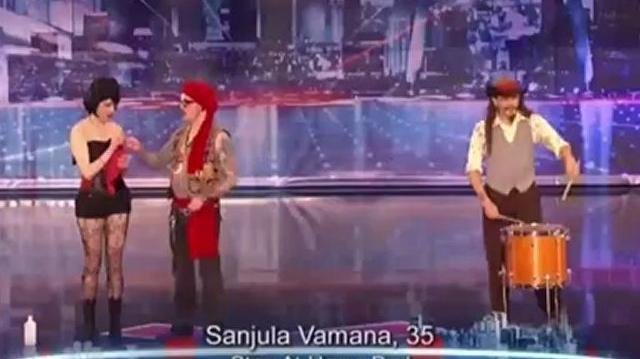 Sanjula Vamana, 35 ~ America's Got Talent 2012, Auditions St