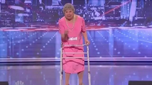 Granny G, 80 ~ America's Got Talent 2012, San Francisco Auditions-0