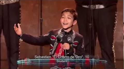 Sebastien El Charro - Vegas Round - America's Got Talent 2012