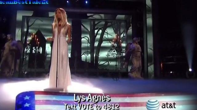 Lys Agnes, Semi-Finals ~ America's Got Talent 2011-0