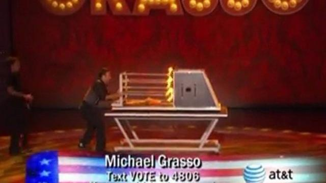 Michael Grasso ~ America's Got Talent Wild Cards Compete