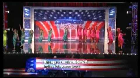 Bhangra Empire auditioning on Americas Got Talent