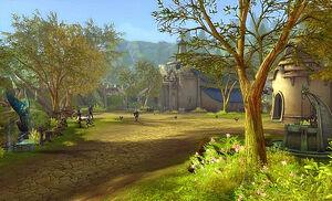 Akarios Village Scenery Image