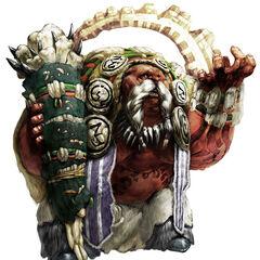 Krall shaman concept art
