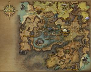Brusthonin map