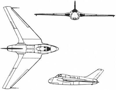 De havilland dh 108 england 1946-35562