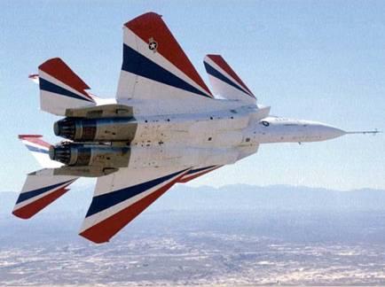 F15S Eagle SMTD Stall Maneuver Technology Demonstrator