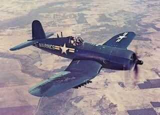 800px-AU-1 Corsair in flight 1952