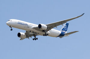 A350 First Flight - Low pass 03
