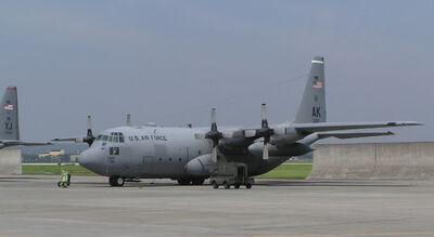 C-130 1 Yokota Tokyo