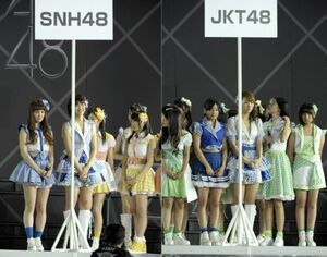 AKB48 TOKYO DOME Concert Team Shuffles 01