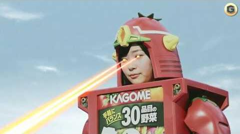 """Kagome"" Vegetable Juice Commercial"