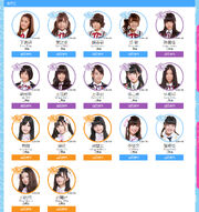 SNH48 Contractual Students 2015