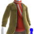 Jacket and Scarf M