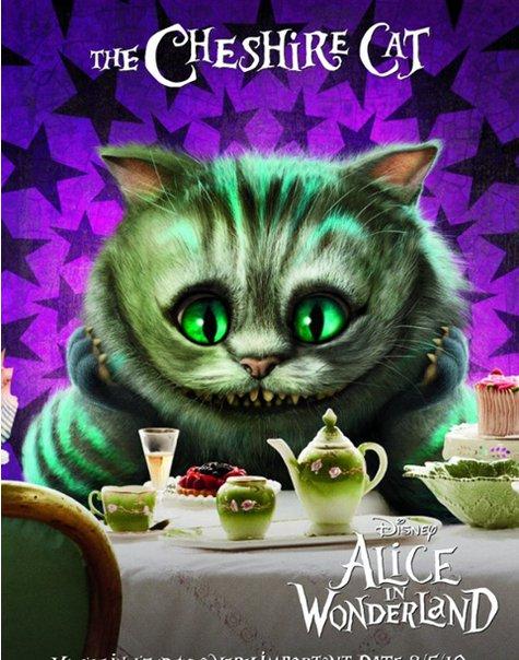 General Alice In Wonderland Characters Original Cat