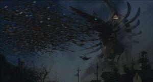 Legion Queen unleashes her swarm of Symbiotic Legion Soldiers.