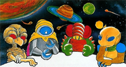 Metroid Galactic Federation Founding