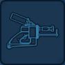 Hand welder icon