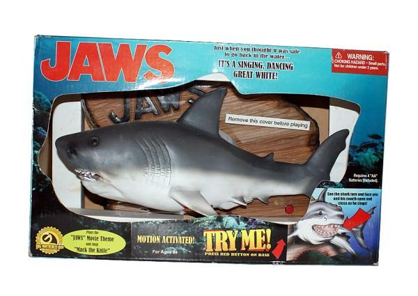 Jaws the singing shark all about singing fish wiki for Talking fish toy
