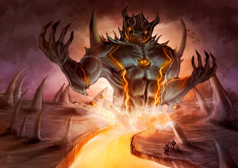 Image - Giant demon by nekomancerz-d3cceu0.jpg | Altered ... Агалиарепт