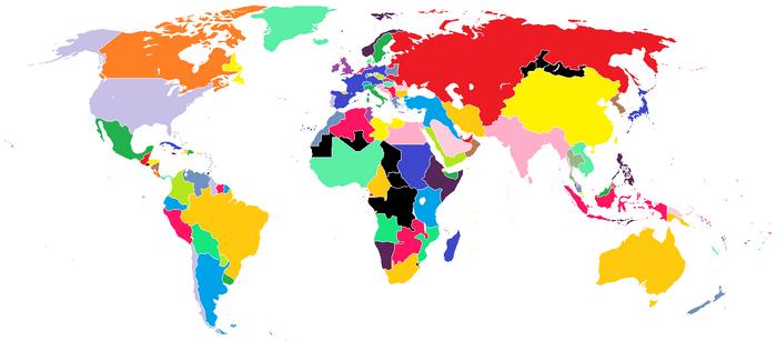 Plan 17 Succeeds World Map