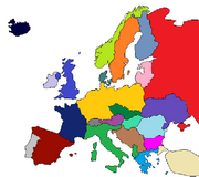Post WWII Europe