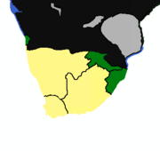 Map of South America PM3 2