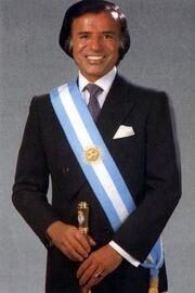 Carlos Menem (Retrato Oficial 1989)