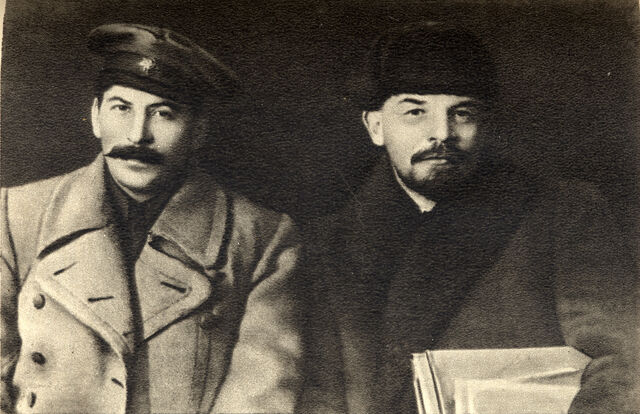 File:Vladimir Lenin and Joseph Stalin, 1919.jpg