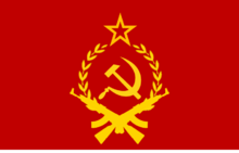Communist militant flag by flagsdesigns-d4uv5sw