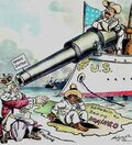 Roosevelt monroe Doctrine cartoon