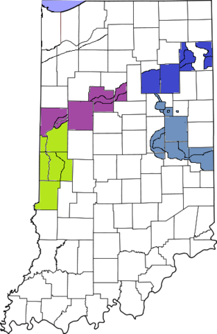 File:391px-Map of Indiana7 highlighting Lake County.png