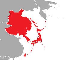 Map of Japan in Pauvre Monde