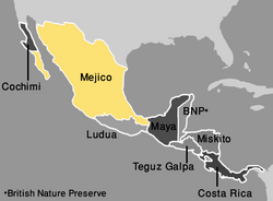 Map Mejico (VegWorld)