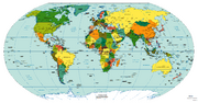 World Map Special Cold War