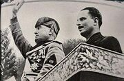 300px-Oswald Mosley and Benito Mussolini 1936