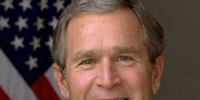George W. Bush (The Capitol Burns)