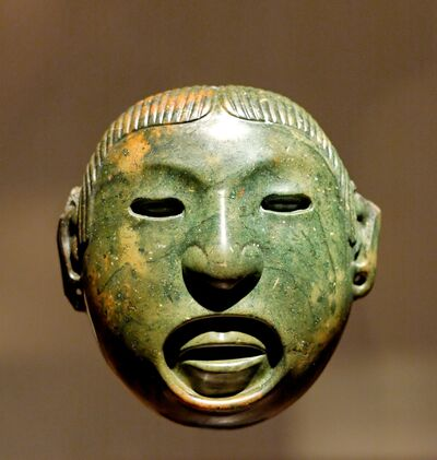 Xipe Totec mask Louvre MH 78-1-60