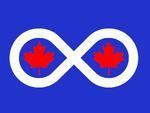 Flag of Keewatin (Rule, Britannia!)