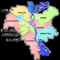 Kiev map english
