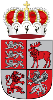 Middle Coat of Arms of Livonia