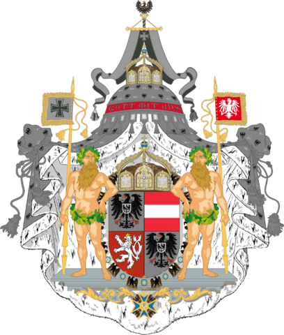 File:Coat of Arms of the United Empire of Germany and Austria by eric4e.png