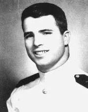 John McCain navy portrait